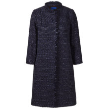 Buy Winser London Tweed Coat, Midnight Online at johnlewis.com