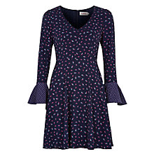 Buy Louche Cotcha Printed Dress, Navy Online at johnlewis.com
