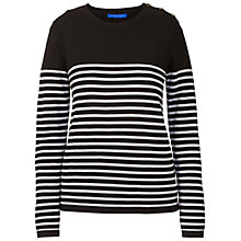Buy Winser London Breton Stripe Merino Jumper Online at johnlewis.com
