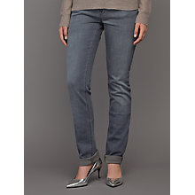 Buy DL1961 Coco Curvy Straight Jeans, Craft Online at johnlewis.com