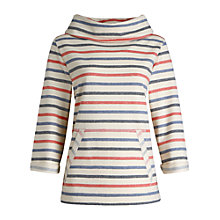 Buy Seasalt Trewissick Sweatshirt, Evening Tide Sailor Online at johnlewis.com