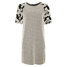 Buy Maison Scotch Jacquard Sweat Dress, Grey Online at johnlewis.com