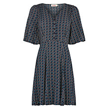 Buy Louche Chea Printed Dress, Navy Online at johnlewis.com