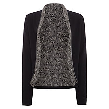 Buy Maison Scotch Cardigan Inspired Blazer, Black Online at johnlewis.com