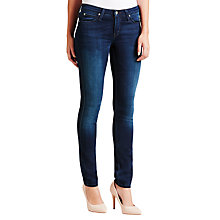 Buy Lee Scarlett Regular Waist Skinny Jeans, Pitch Royal Online at johnlewis.com