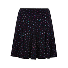 Buy Louche Tata Fan Print Skirt, Navy Online at johnlewis.com