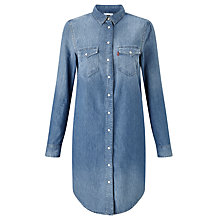 Buy Levi's Iconic Western Dress, Vintage Medium Dark Online at johnlewis.com