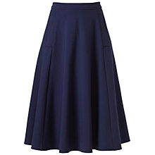 Buy Winser London Full Circle Skirt, Midnight Online at johnlewis.com