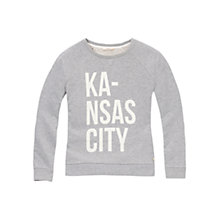 Buy Lee Kansas City Sweatshirt, Grey Melange Online at johnlewis.com