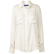 Buy Winser London Silk Shirt, Ivory Online at johnlewis.com