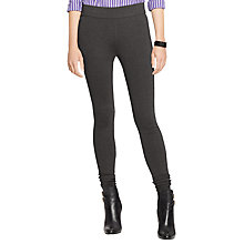 Buy Lauren Ralph Lauren Ryanne Leggings, Dark Gents Heather Online at johnlewis.com