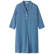 Buy Toast Worker's Shirt Dress, Light Indigo Online at johnlewis.com