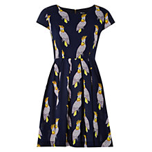Buy Louche Ineesha Cockatiel Print Dress, Navy Online at johnlewis.com