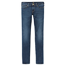 "Buy Lee Sallie 31"" Slim Boyfriend Jeans, Blue Notes Online at johnlewis.com"