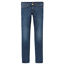 "Buy Lee Jade 32"" Slim Jeans, Blue Notes Online at johnlewis.com"