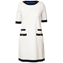 Buy Winser London Milano Parisian Dress, Ivory/Black Online at johnlewis.com