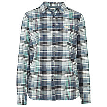 Buy Lee Classic Check Shirt, Black/Blue Online at johnlewis.com