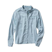 Buy Levi's Tencel Shirt, Icy Blue Online at johnlewis.com