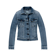 Buy Lee Slim Rider Denim Jacket, Blue Legacy Online at johnlewis.com