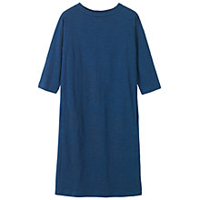 Buy Toast Heavy Cotton Dress, Mazarine Blue Online at johnlewis.com