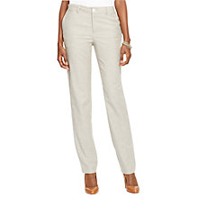 Buy Lauren Ralph Lauren Edita Straight Trousers, Alaskan Grey Online at johnlewis.com