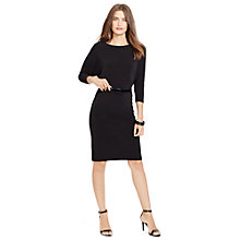 Buy Lauren Ralph Lauren Verricka Dress, Black Online at johnlewis.com