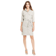 Buy Lauren Ralph Lauren Vicario Shirt Dress, Alaskan Grey Online at johnlewis.com