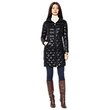 Buy Lauren Ralph Lauren Quilted Down Coat, Black Online at johnlewis.com