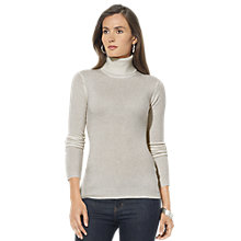Buy Lauren Ralph Lauren Zoe Turtleneck Jumper, Alaskan Grey Online at johnlewis.com
