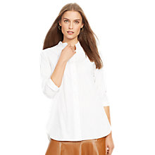 Buy Lauren Ralph Lauren Cathal Shirt, White Online at johnlewis.com