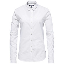 Buy Tommy Hilfiger Floriane Shirt, Classic White Online at johnlewis.com
