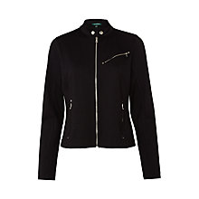 Buy Lauren Ralph Lauren Gizela Jacket, Black Online at johnlewis.com