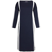 Buy Tommy Hilfiger Dagna Stripe Dress, Night Sky Online at johnlewis.com