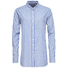 Buy Tommy Hilfiger Stripe Shirt, French Blue Online at johnlewis.com