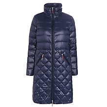 Buy Lauren Ralph Lauren Side Buckle Long Coat, Regal Navy Online at johnlewis.com