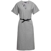 Buy Tommy Hilfiger Pia Wool-Blend Dress, Light Grey Heather Online at johnlewis.com