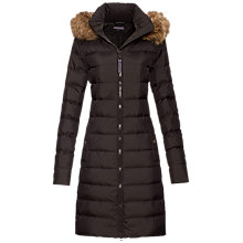 Buy Tommy Hilfiger Tyra Down Coat, Black Online at johnlewis.com