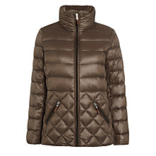 Buy Lauren Ralph Lauren Side Buckle Short Coat, Clay Online at johnlewis.com