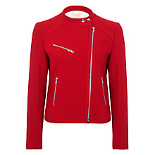 Buy Vilagallo Biker Jacket, Red Online at johnlewis.com