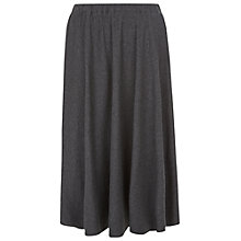 Buy People Tree Delia Gathered Skirt, Dark Grey Online at johnlewis.com