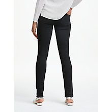 Buy Paige Skyline Skinny Jeans, Black Shadow Online at johnlewis.com