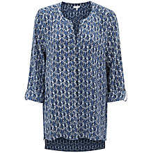 Buy Joie Audrick Printed Blouse, Deep Sapphire Online at johnlewis.com