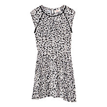 Buy Louche Lovada Animal Print Dress, Black/Cream Online at johnlewis.com