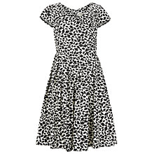 Buy People Tree Farrah Flared Dress, Black Online at johnlewis.com