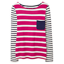 Buy Joules Frankie Stripe Jersey Top Online at johnlewis.com