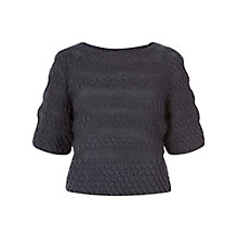 Buy People Tree Tillie Jumper, Grey Online at johnlewis.com