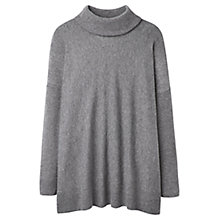 Buy Joules Eartha Roll Neck Jumper, Slate Marl Online at johnlewis.com