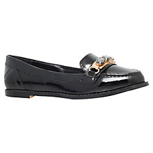 Buy Carvela Martha Flat Slip On Loafers, Black Online at johnlewis.com
