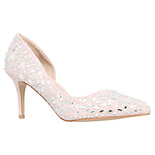 Buy Carvela Glowing Asymmetric Jewel Embellished Court Shoes Online at johnlewis.com
