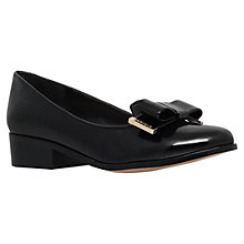 Buy Carvela Lauren Low Heeled Slip On Loafers, Black Online at johnlewis.com